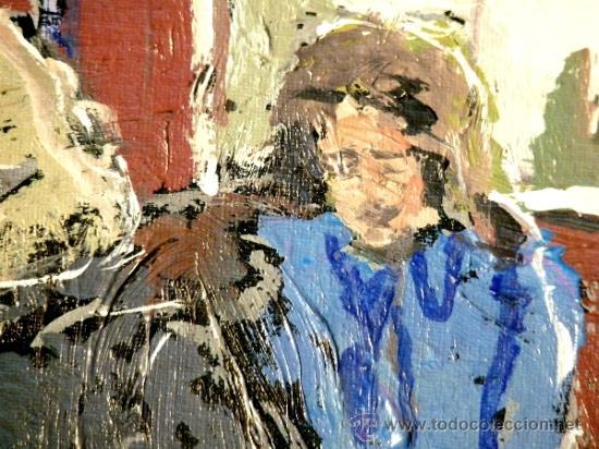 Arte: oleo sobre tabla.Trazo con firmeza y seguridad.Anónimo - Foto 3 - 33910380