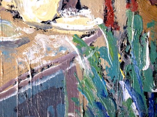 Arte: oleo sobre tabla.Trazo con firmeza y seguridad.Anónimo - Foto 4 - 33910380