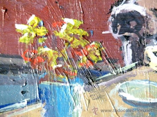 Arte: oleo sobre tabla.Trazo con firmeza y seguridad.Anónimo - Foto 5 - 33910380