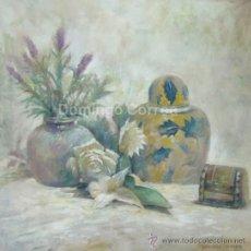 Arte: DOMINGO CORREA. 'EL JOYERITO DE GRANADA'. 50 X 50 CM. ÓLEO / LIENZO. FIRMADO. PINTURA CONTEMP.. Lote 33972457