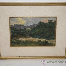 Arte: B2-053. LLAVANERAS 1906. OLEO CARTÓN. AUTOR: A. CARDUNETS (1871-1944). Lote 33975863