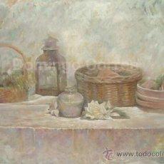 Arte: DOMINGO CORREA. ÓLEO / LIENZO. 'DETENER EL TIEMPO'. PINTURA CONTEMPORÁNEA.. Lote 33996616