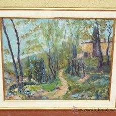 Arte: OLEO / TELA - FIRMADO ROVIRA - HORTA , BARCELONA. Lote 34011437
