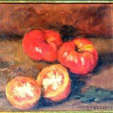 Arte: BONITO ÓLEO SOBRE TÁBLEX DE ENRIC MODOLELL (CABRERA DE MAR 1903)EMMARCADO Y ACRISTALADO. Lote 34225987