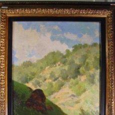 Arte: PAISAJE. OLEO/LIENZO. JOSEP BERGA I BOIX (1837-1914).. Lote 34195091