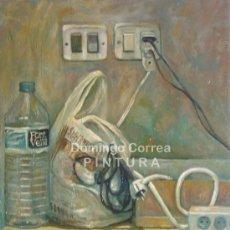 Arte: DOMINGO CORREA 'FONT VELLA 2001'. ÓLEO SOBRE LIENZO. REALISMO, CUADRO. Lote 30857627