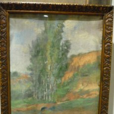 Arte: PAISAJE DE 1926 DE RAMON CORTES (1906-1977). Lote 34222059