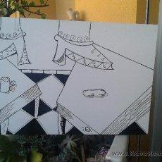 Arte: NEW AGE COLLECTION 2012 - BODEGON DE LA ACEITUNA - PIEZA ORIGINAL Y UNICA. Lote 34225374