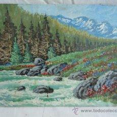 Arte: PINTURA DE DR.LENDVAY. ÓLEO SOBRE TABLEX... Lote 34225479