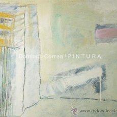 Arte: 'ACCIDENTE'. MIXTA SOBRE LIENZO. INFORMALISMO. DOMINGO CORREA.. Lote 34267991