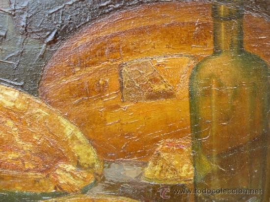 Arte: OLEO / TELA - FIRMADO ABELLÓ - BODEGÓN - Foto 3 - 106708014