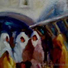 Arte - COLECCIÓN VISTAS DE MARRUECOS.ÓLEOS SOBRE CARTÓN PRENSADO- RECUERDOS DE TANGER - 34674045
