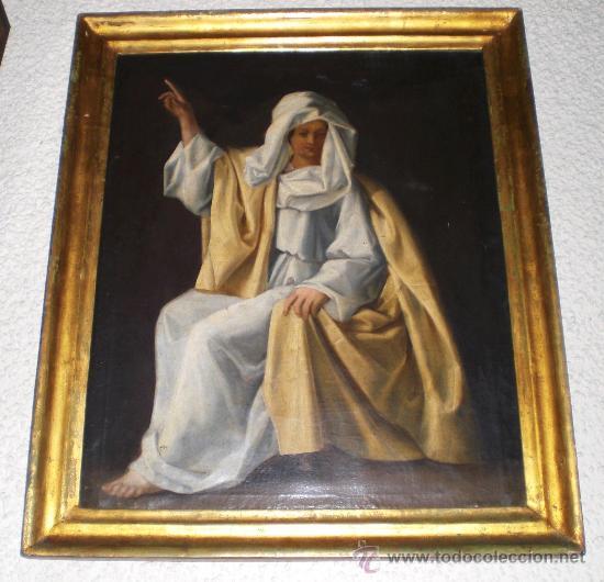 OLEO SOBRE LIENZO. S.XIX. RETRATO DE MUJER MARROQUÍ. (Arte - Pintura - Pintura al Óleo Moderna siglo XIX)