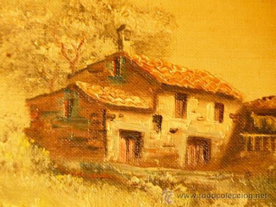 Arte: oleo sobre tela.Firmado Molina.Paisaje - Foto 3 - 34447165