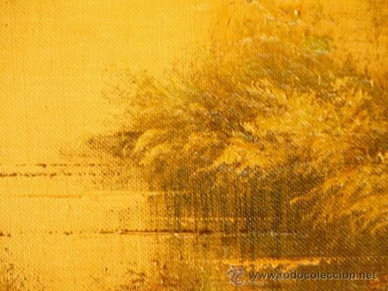Arte: oleo sobre tela.Firmado Molina.Paisaje - Foto 5 - 34447165