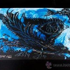"""Arte: CUADRO PINTOR """"DEL VADO"""" PAJARO LUNAR . Lote 34504560"""