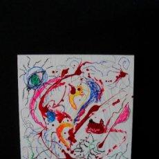"""Arte: CUADRO DEL RECONOCIDO PINTOR """"DEL VADO"""" CULTIVANDO LA VIDA. Lote 34504696"""