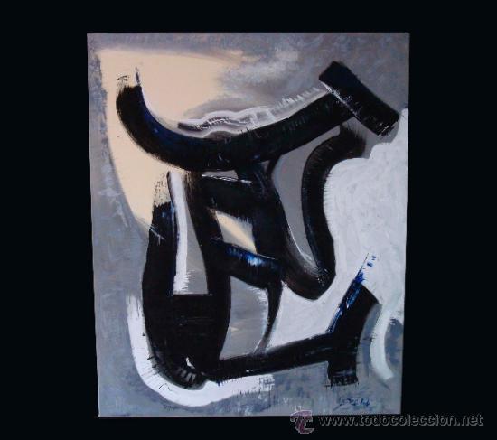 """TORO DEL ALBA CUADRO DEL PINTOR """"DEL VADO"""" (Arte - Pintura Directa del Autor)"""