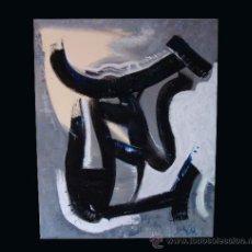 """Arte: TORO DEL ALBA CUADRO DEL PINTOR """"DEL VADO"""". Lote 34504716"""
