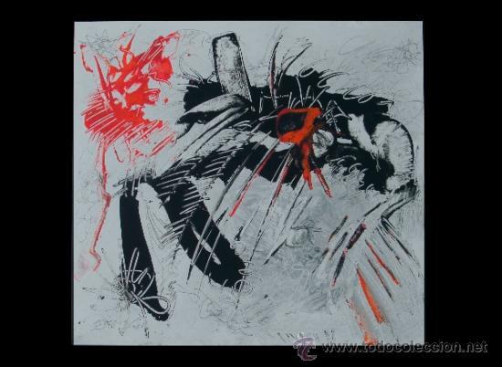 """NAVE ATACANDO AL ADN """"DEL VADO"""" RECONOCIDO PINTOR (Arte - Pintura Directa del Autor)"""