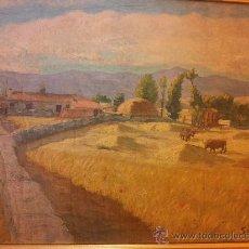 Arte: OLEO DE SANTANA DE 1951, TELA DE 55X46CM. Lote 34565806
