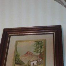 Arte: PINTURA AL OLEO DE PAISAJE,ENMARCADO EN RELIEVE.MEDIDAS.38X34CM. Lote 34592631