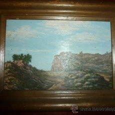 Kunst - pintura sobre tabla oleo escuela mallorquina - 34645120
