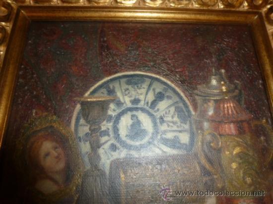 Arte: bodegon oleo sobre lienzo firmado ver foto - Foto 6 - 34645816