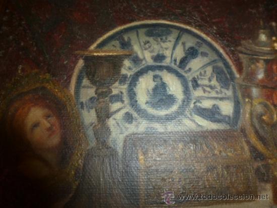 Arte: bodegon oleo sobre lienzo firmado ver foto - Foto 9 - 34645816