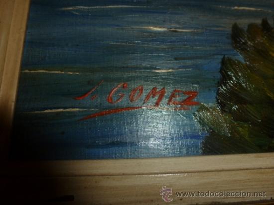 Arte: oleo sobre lienzo paisaje mallorca sa foradada - Foto 2 - 34645335