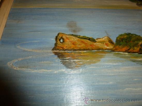 Arte: oleo sobre lienzo paisaje mallorca sa foradada - Foto 3 - 34645335