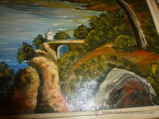 Arte: oleo sobre lienzo paisaje mallorca sa foradada - Foto 4 - 34645335