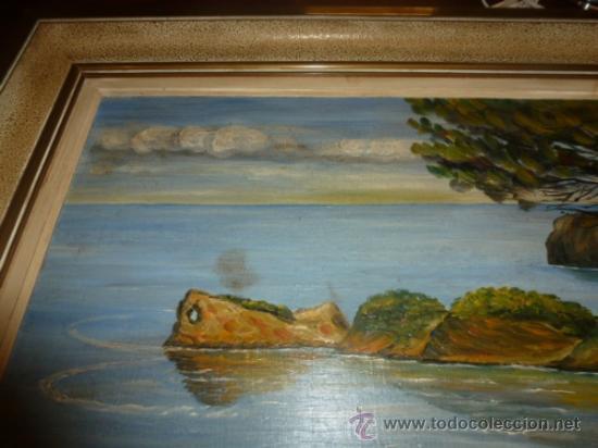 Arte: oleo sobre lienzo paisaje mallorca sa foradada - Foto 6 - 34645335