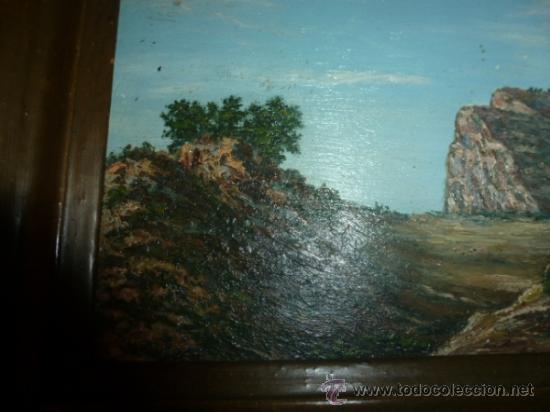 Arte: pintura sobre tabla oleo escuela mallorquina - Foto 2 - 34645120