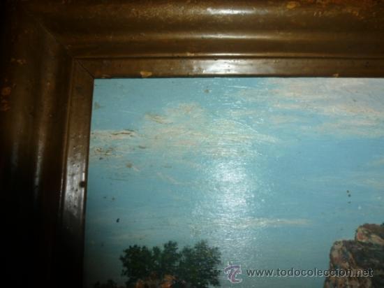 Arte: pintura sobre tabla oleo escuela mallorquina - Foto 3 - 34645120