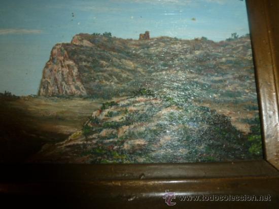 Arte: pintura sobre tabla oleo escuela mallorquina - Foto 4 - 34645120