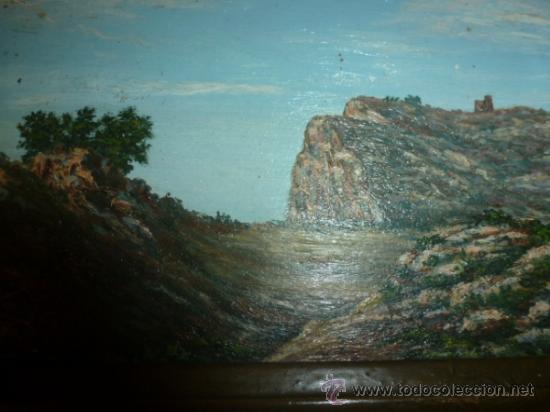Arte: pintura sobre tabla oleo escuela mallorquina - Foto 5 - 34645120