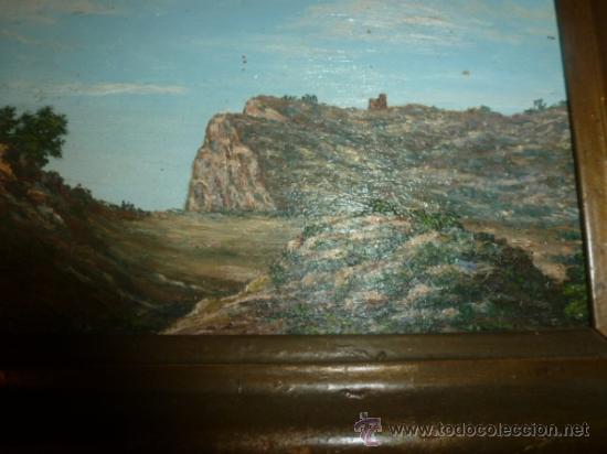 Arte: pintura sobre tabla oleo escuela mallorquina - Foto 7 - 34645120
