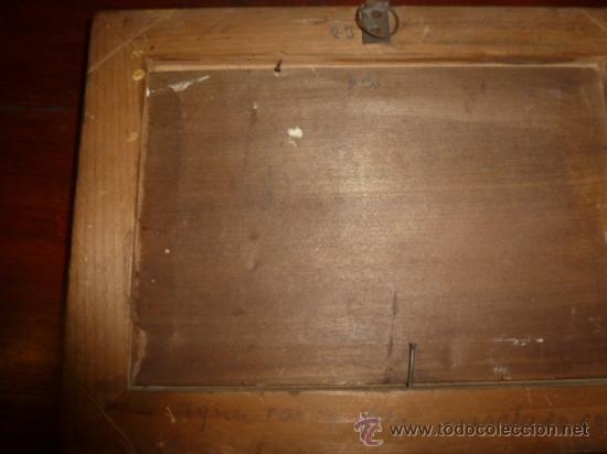 Arte: pintura sobre tabla oleo escuela mallorquina - Foto 8 - 34645120