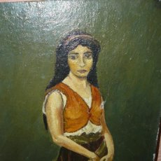 Arte: OLEO / TABLILLA ENTELADA - FIRMADO M. BANCER - ZINGARA. Lote 34673534
