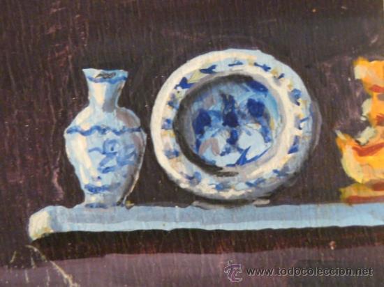 Arte: óleo sobre tabla.Firma ilegible.firmado 68 - Foto 4 - 34986095
