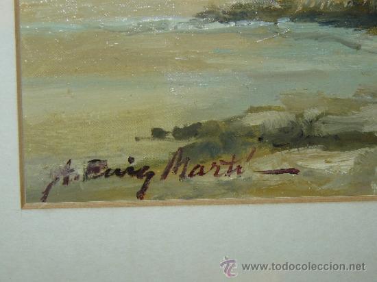Arte: OLEO / TELA - FIRMADO A PUIG MARTÍ. - PAISAJE - Foto 7 - 34992204