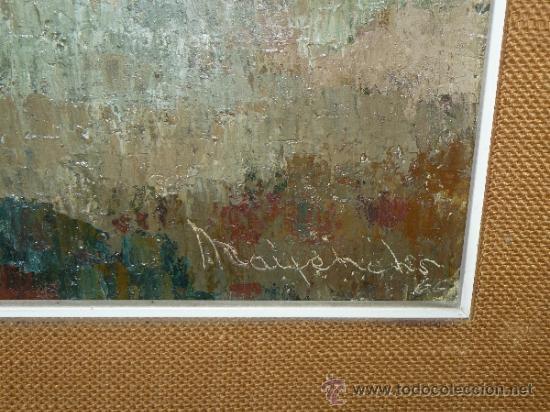 Arte: OLEO / TELA - FDO ?MAIFENICHES?.. - PAISAJE - Foto 4 - 35233863