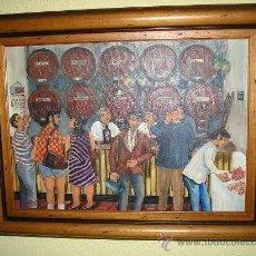 Arte: CUADRO DEL PINTOR MALAGUEÑO JAIME DIAZ RITTWAGEN. Lote 35549831