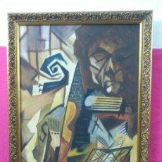 Arte: CUADRO, OLEO SOBRE LIENZO FIRMADO IRISARRI. PINTURA FIGURATIVA ORIGINAL...ALFJ.. Lote 35640706
