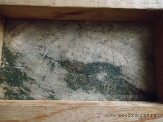 Arte: preciosa pintura al oleo miniatura sobre pellejo estirado de animal, 15 x 10 cm bastidor madera - Foto 4 - 35652279