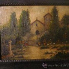 Arte: PAISAJE GALLEGO, FIRMADO. Lote 35769275