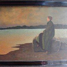 Kunst - PRECIOSA PINTURA AL ÓLEO DE 1922. - 35774971