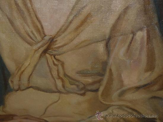 Arte: OLEO / TELA - FIRMADO DIVORI - 1933 - RETRATO FEMENINO - Foto 5 - 35982919