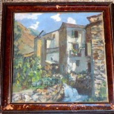 Arte: BONITO ÓLEO SOBRE TELA, DE WIFRE VILARDEBÓ CIRACH(BARCELONA 1912). Lote 36185881